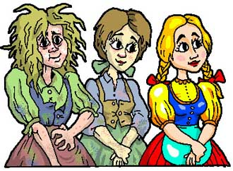 A juhászlegény három szeretője (népmese)