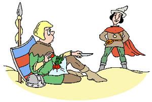 Mátyás király meg a katona (népmese)